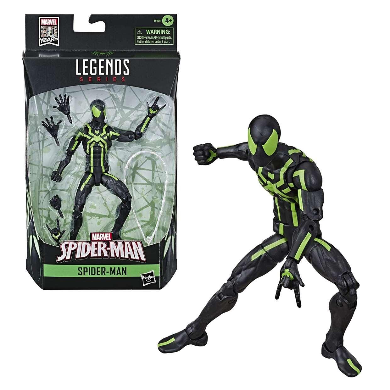 Spider Man Big Time Figura Marvel Legends Hasbro 80th Years
