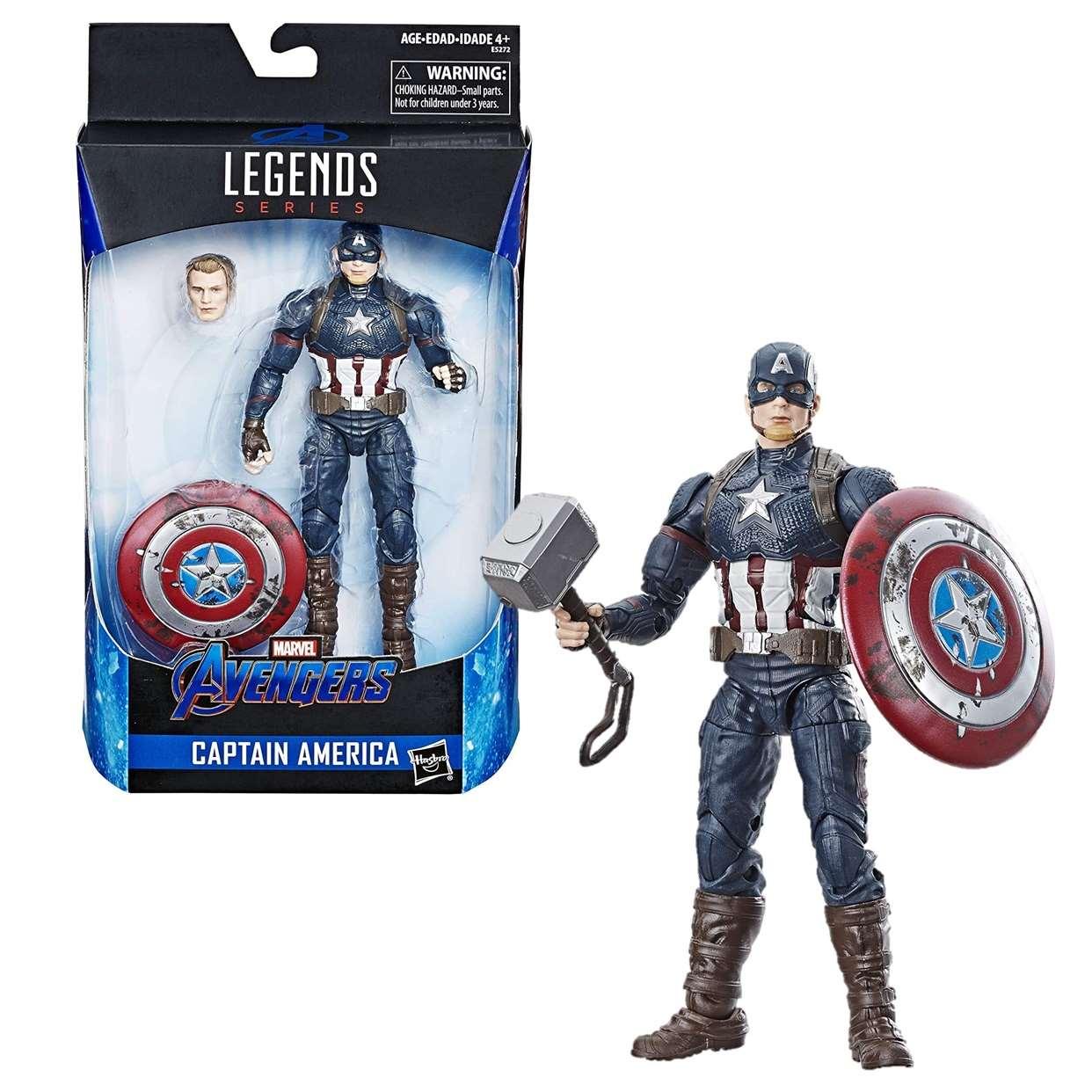 Capitán América Digno Figura Avengers End Game Legends