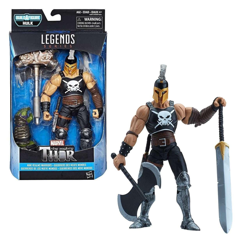 The Mighty Thor Ares Figura Ragnarok B A F Hulk Legends