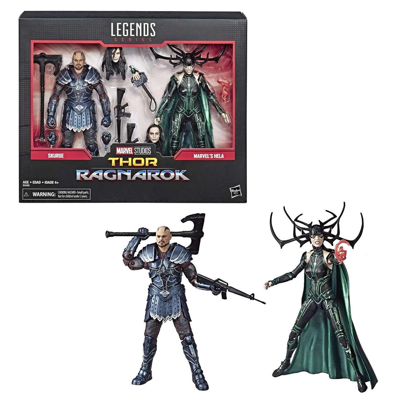 Skurge & Hela Paquete Thor Ragnarok Marvel Legends Series