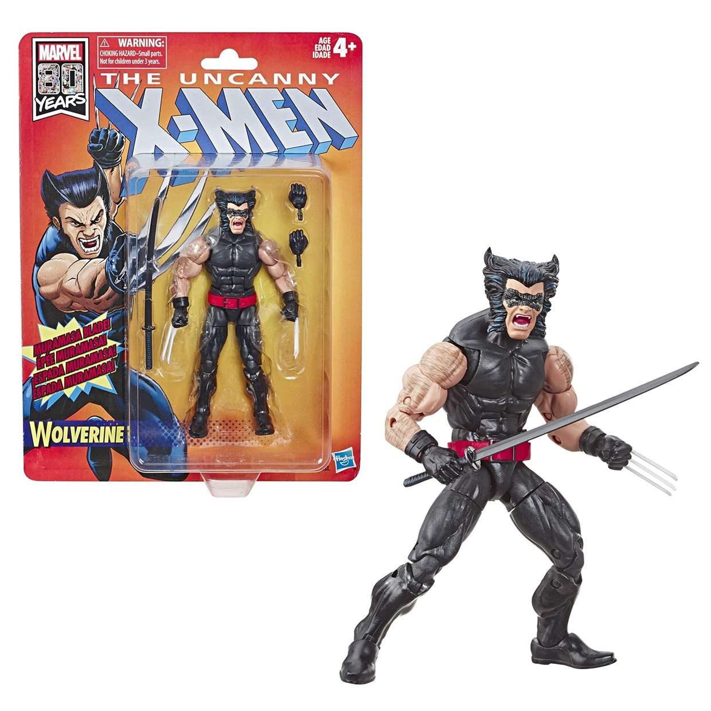 Wolverine Figura Marvel The Uncanny X Men 80th Years