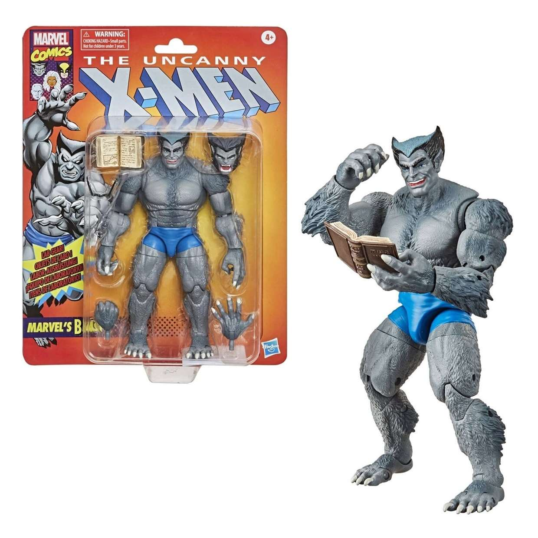 Marvels Beast Figura The Uncanny X Men Comic Vintage