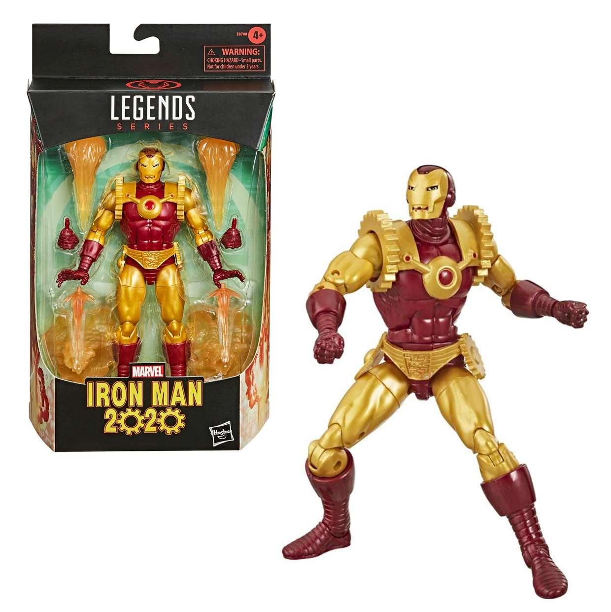 Iron Man 2020 Figura Marvel Legends Series 6 Pulgadas