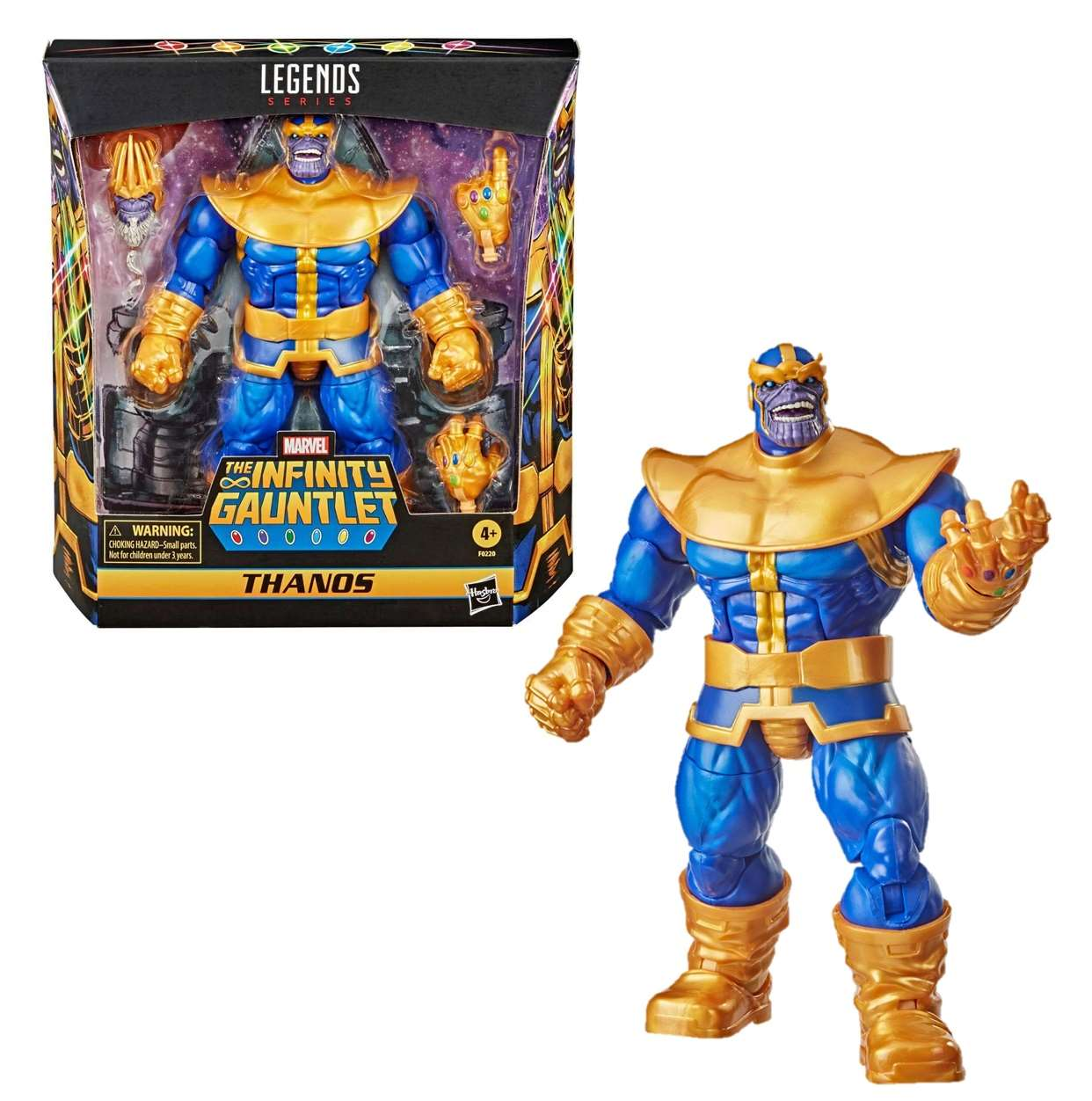 Thanos Figura Marvel The Infinity Gauntlet Legends Series