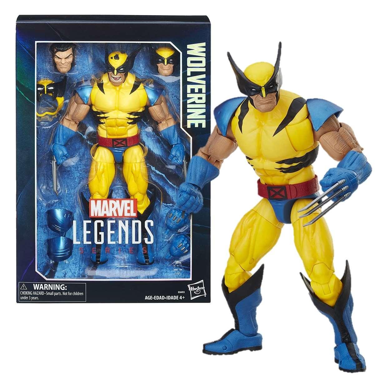 Wolverine X Men Figura Marvel Legends Series 12 Pulgadas