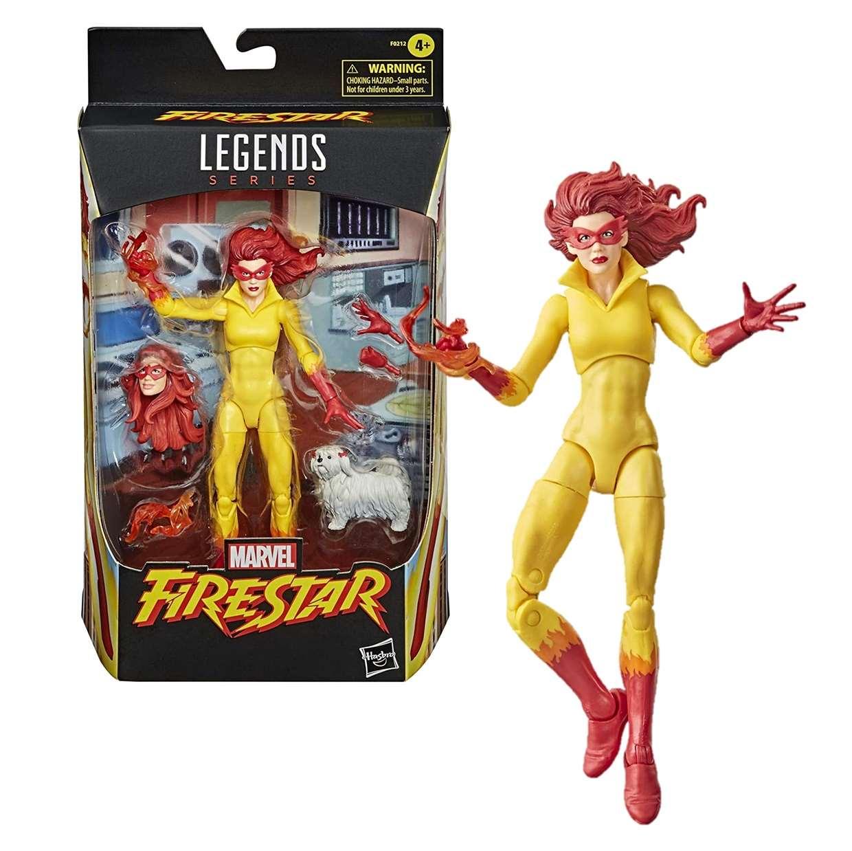 Fire Star Figura Marvel Legends Series 6 Pulgadas