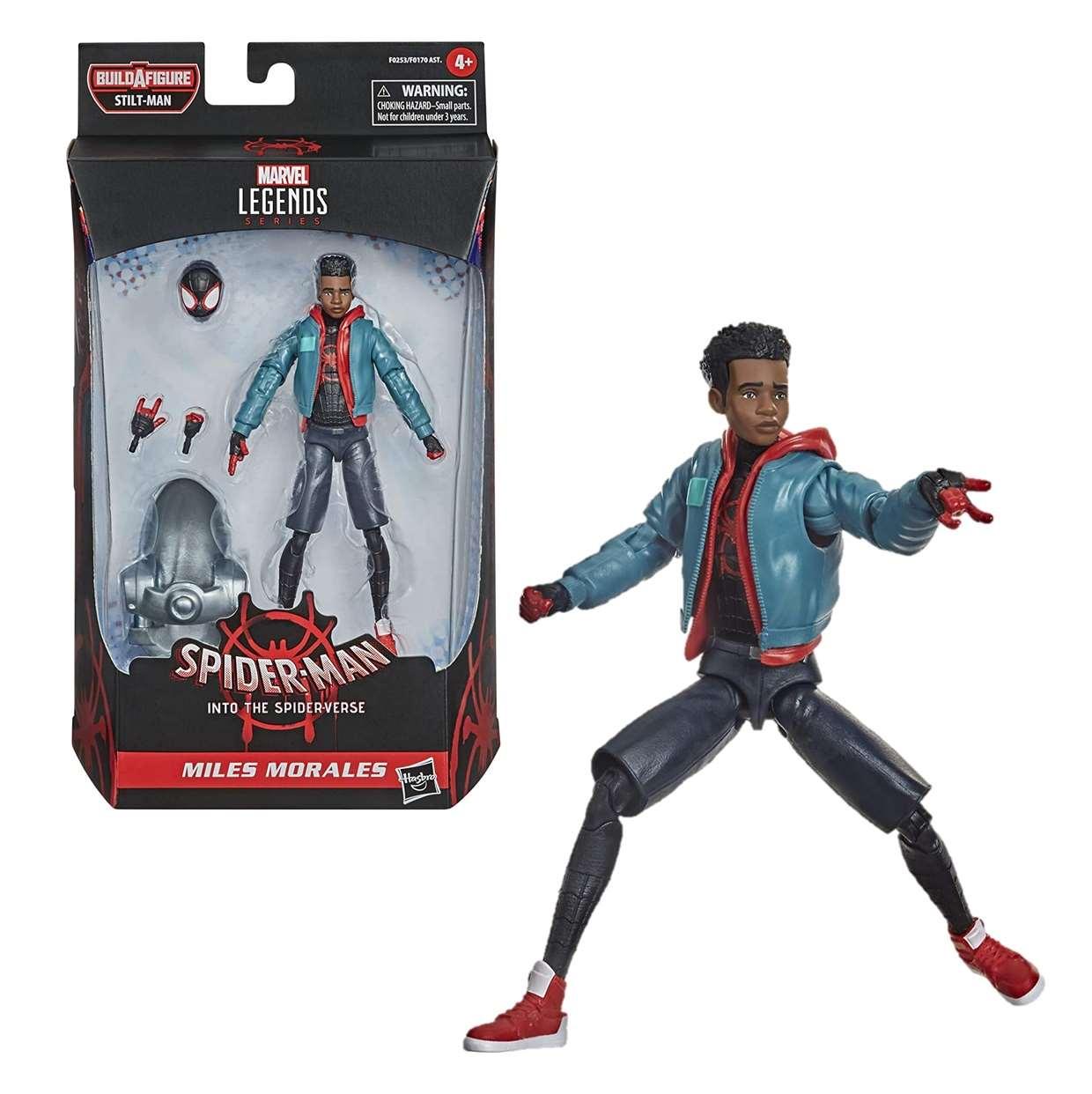 Miles Morales Figura Spider Man Into The Spiderverse 6 PuLG