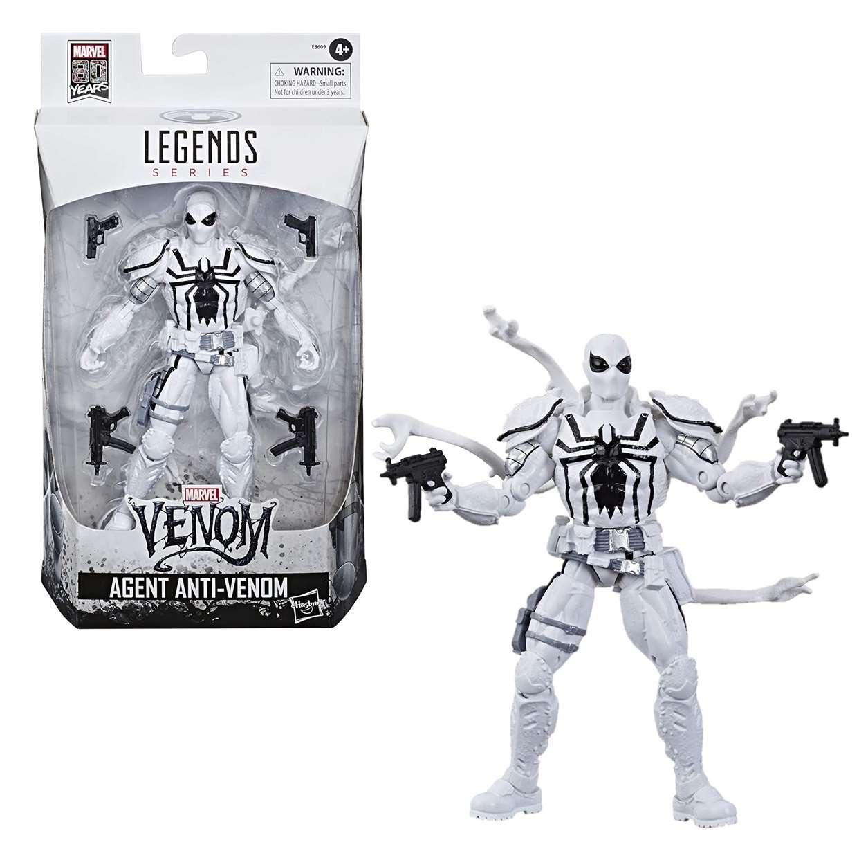 Agent Anti Venom Figura Marvel Venom 80th Years Legends