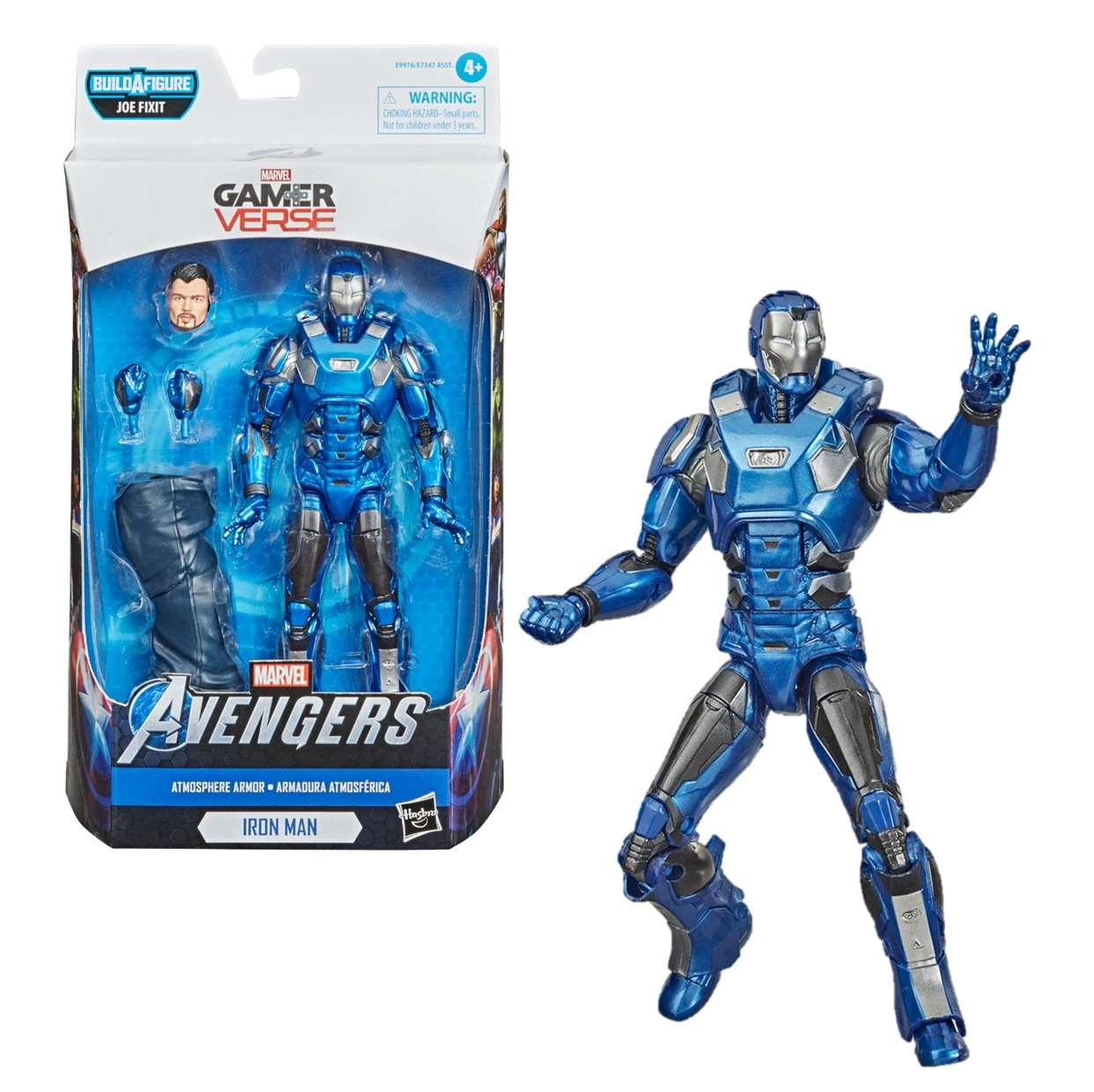 Iron Man Atmosphere Armor Figura Avengers Gamerverse Legends