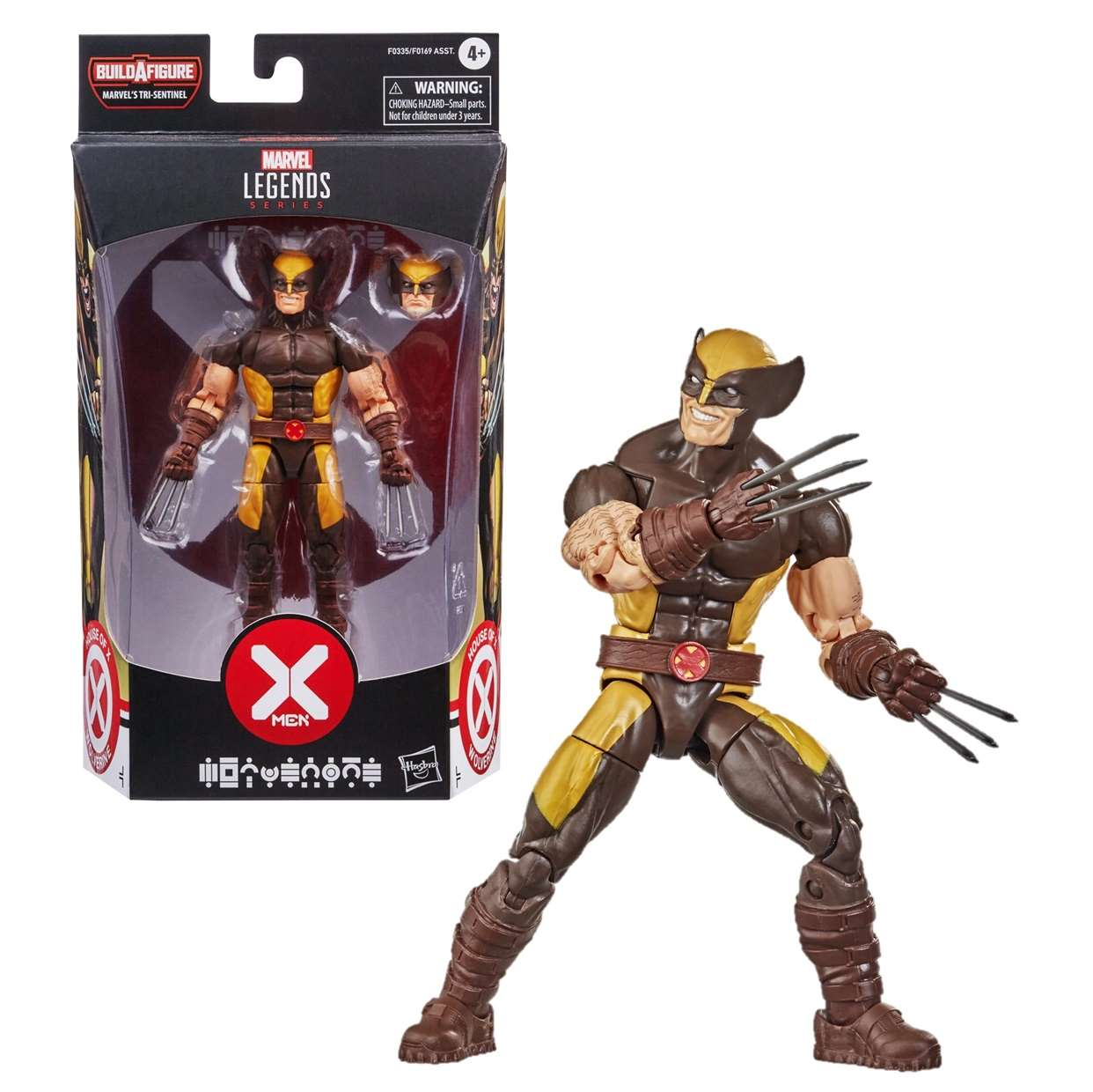 Wolverine Figura X Men B A F  Marvel Tri Sentinel Legends