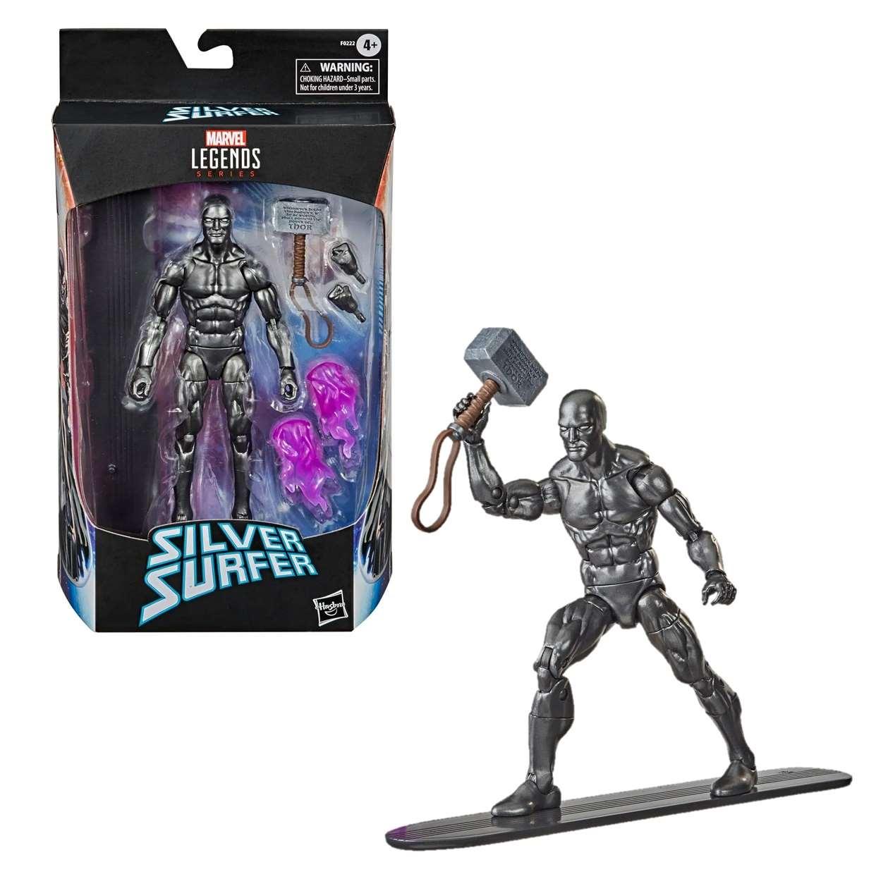 Silver Surfer Figura Marvel Obsidian Surfer Legends Series
