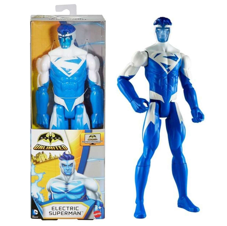 Superman Electric Figura Dc Batman Unlimited 12 PuLG