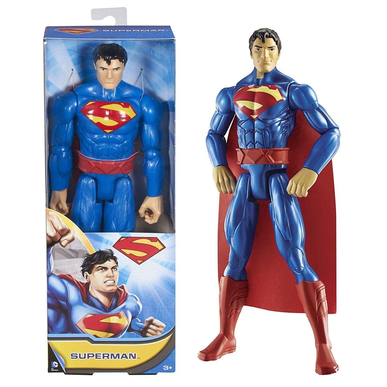 Superman Figura De Acción Dc Mattel 12 Pulgadas