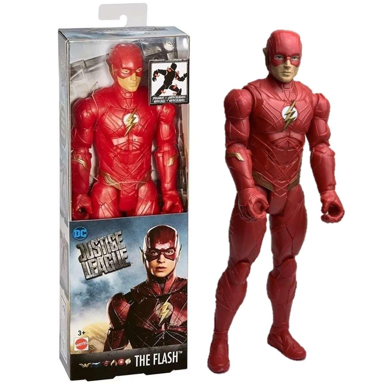 Flash Figura Justice League Movie Dc Comics 12 Pulgadas