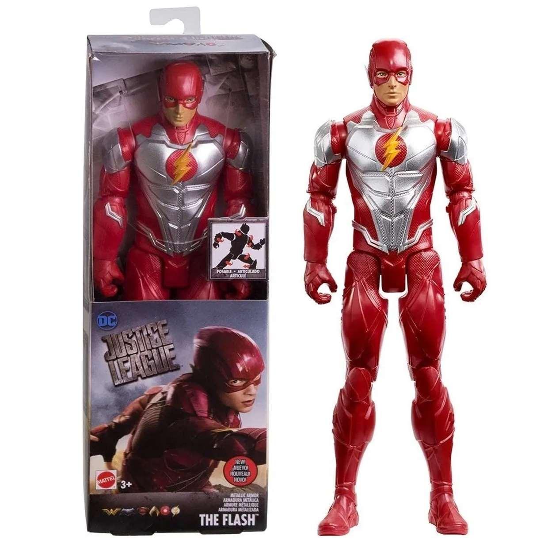 Flash Armadura Metálica Figura Dc Justice League Movie