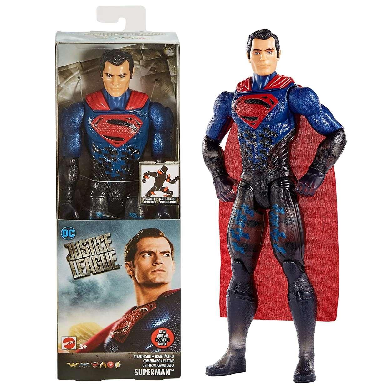 Superman Stealth Suit Figura Dc Justice League Movie
