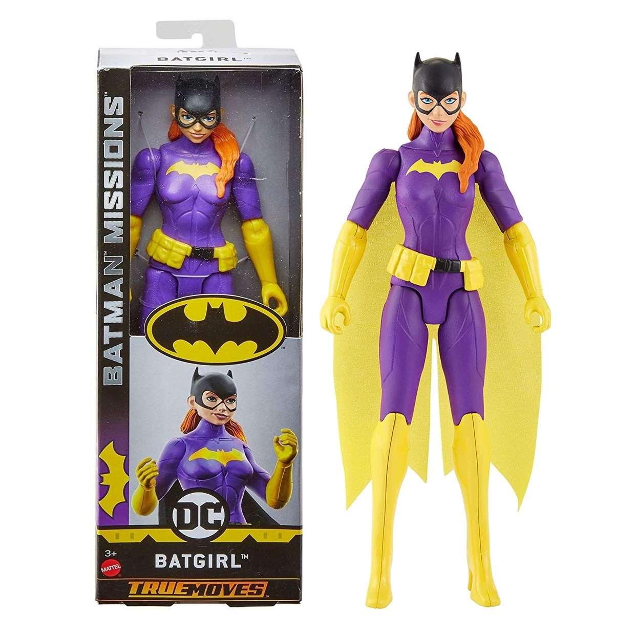 Batgirl Figura Batman Missions Dc Comics True Moves 12 Pulg