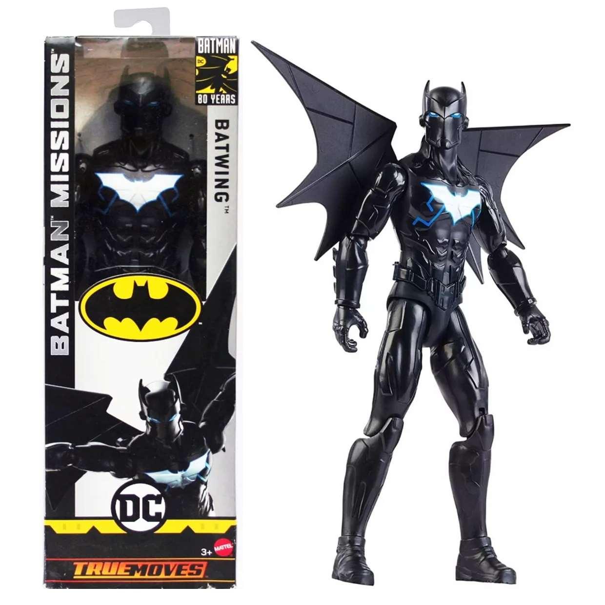 Batwing Figura Batman Missions Dc Comics True Moves 12 Pulg