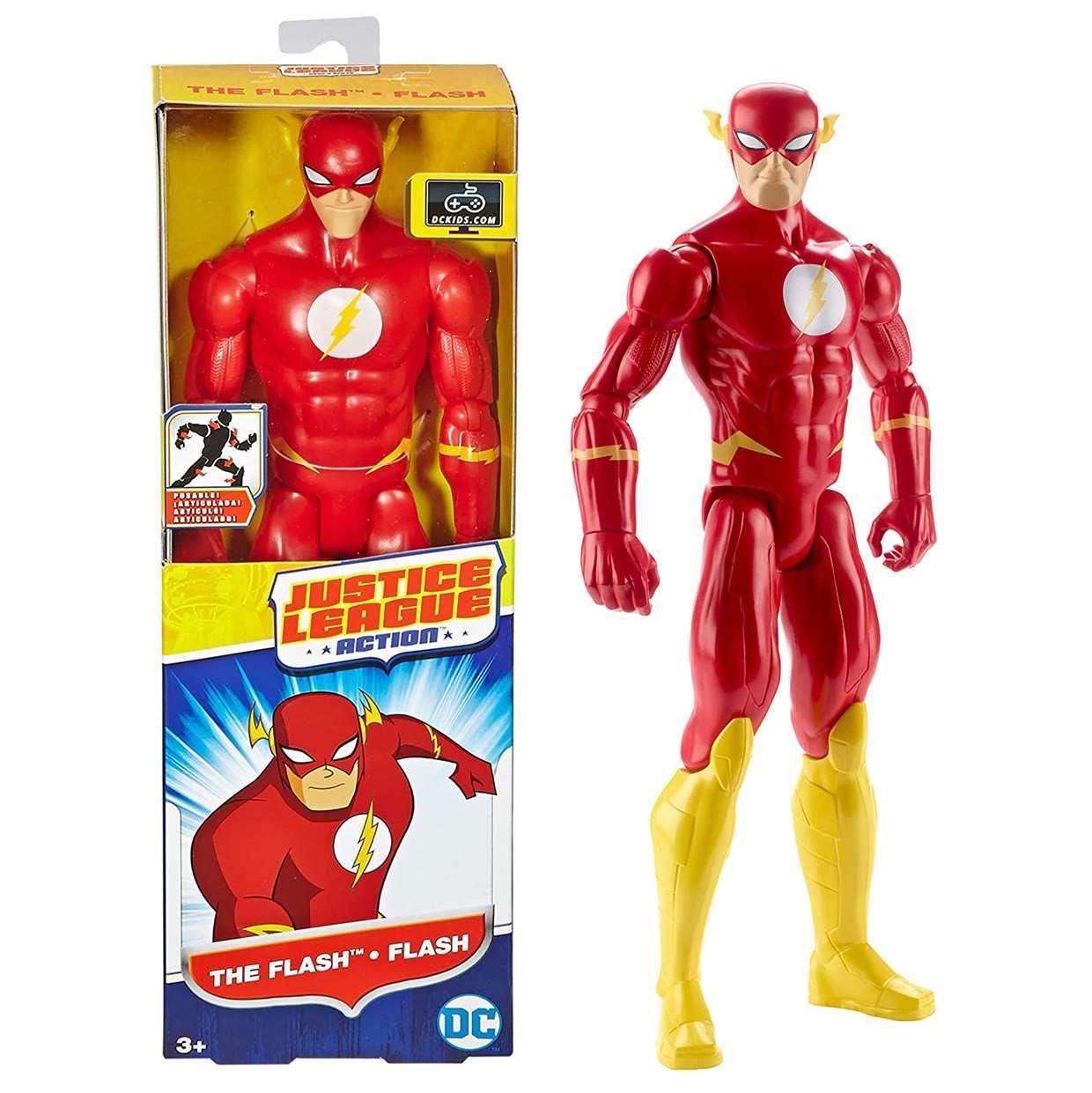 Flash Figura Dc Comics Justice League Action Mattel 12 PuLG
