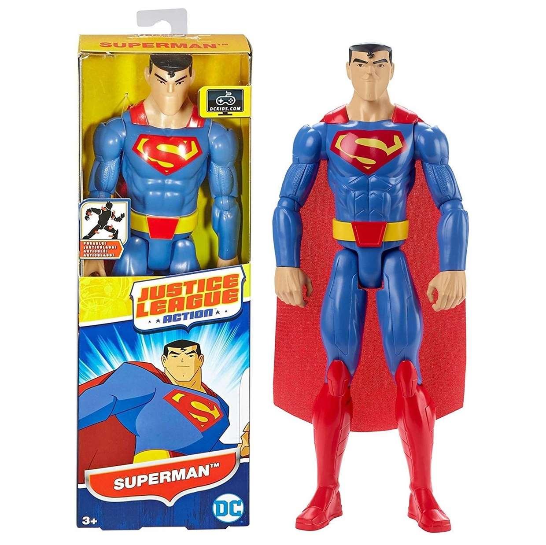 Superman Figura Dc Justice League Action Mattel 12 PuLG