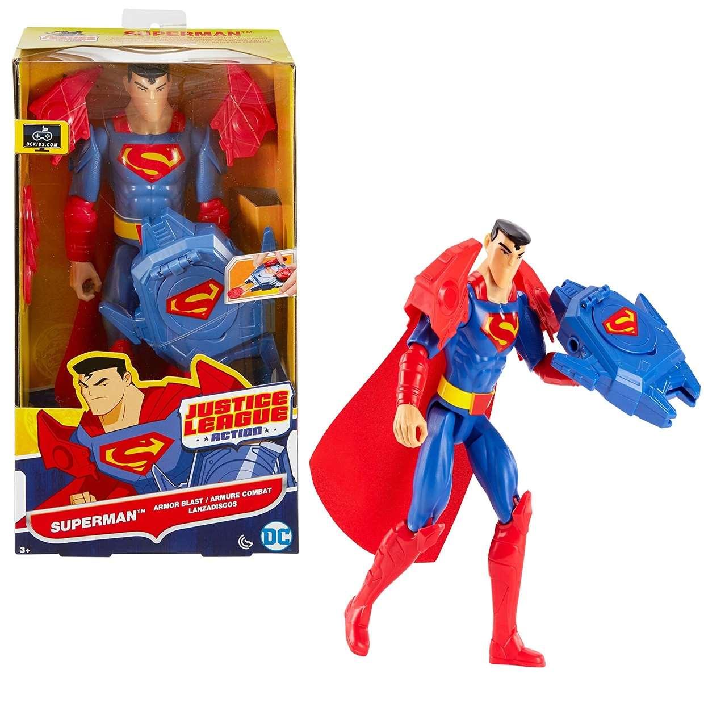 Superman Armor Blast Figura Dc Justice League Action 12 PuLG