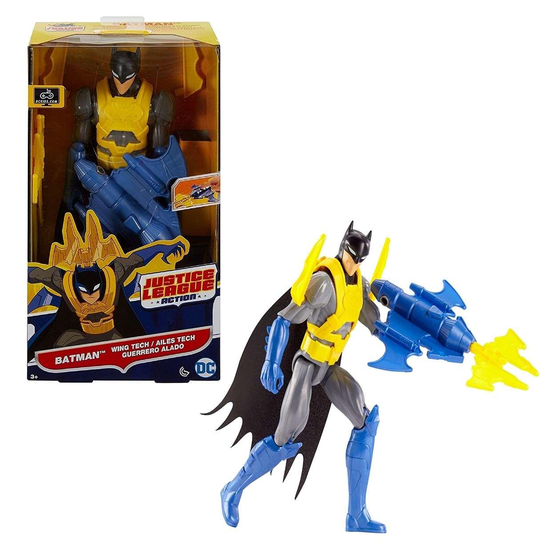 Batman Wing Tech Figura Dc Justice League Action 12 Pulg