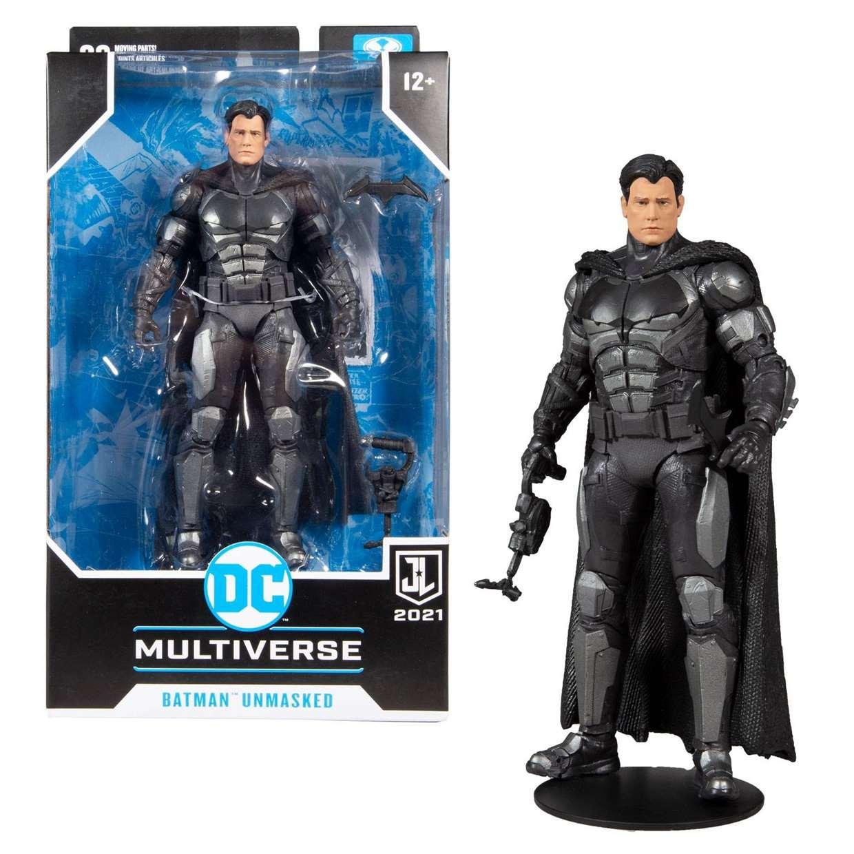 Batman Unmasked Figura Justice League 2021 Mc Farlane Zack Snyder