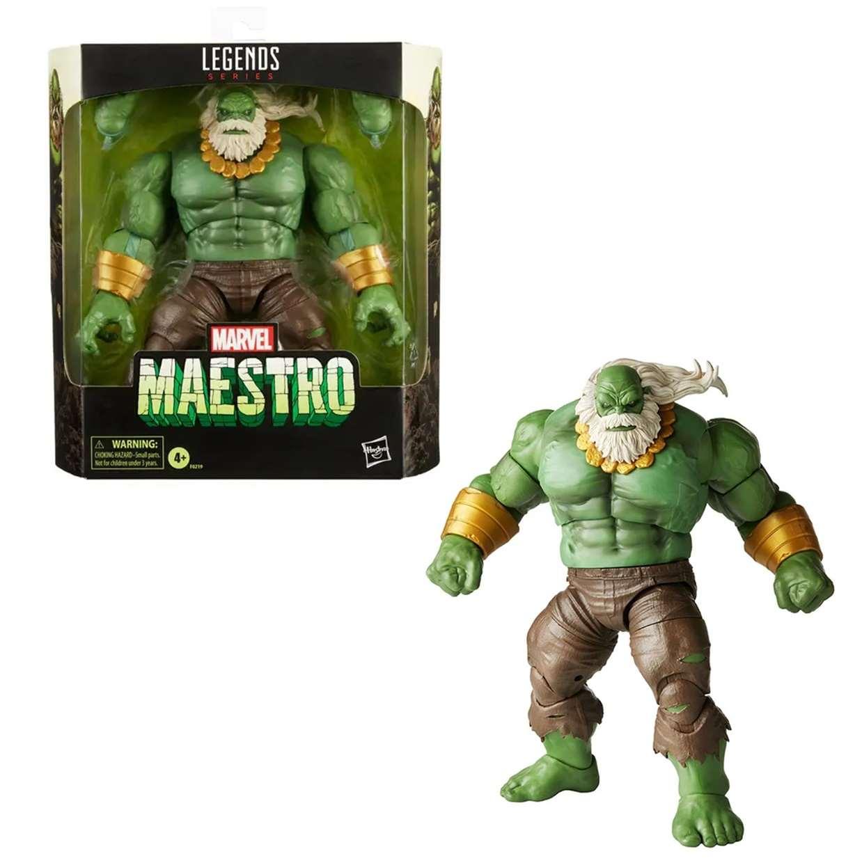 Maestro Hulk Figura Marvel Legends Series 7 Pulgadas