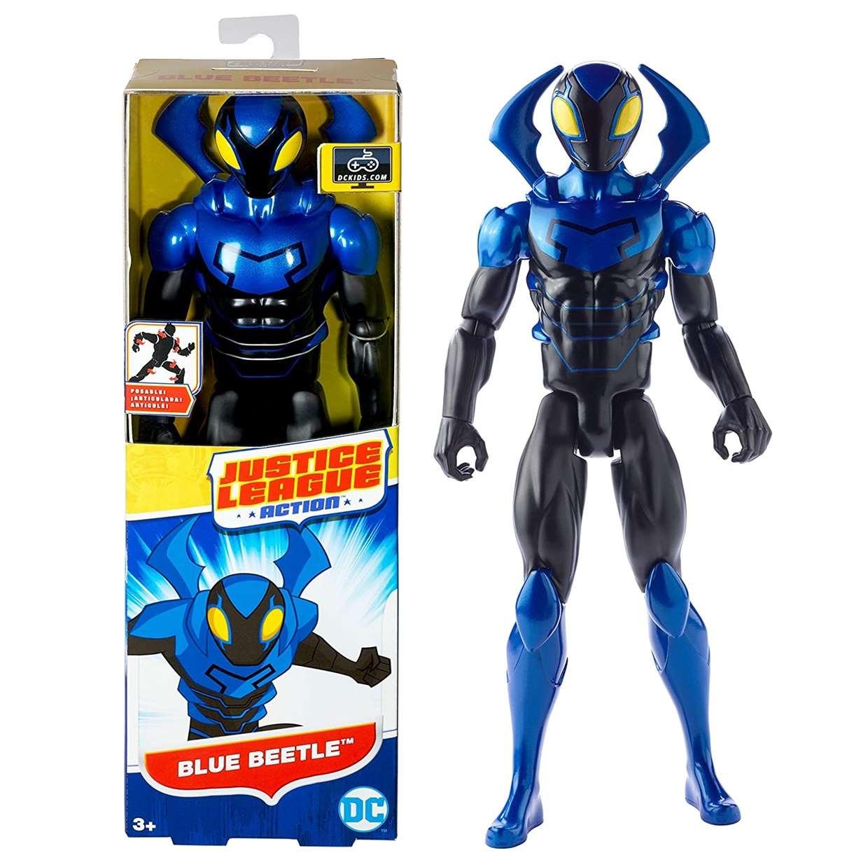 Blue Beetle Figura Dc Justice League Action Mattel 12 PuLG