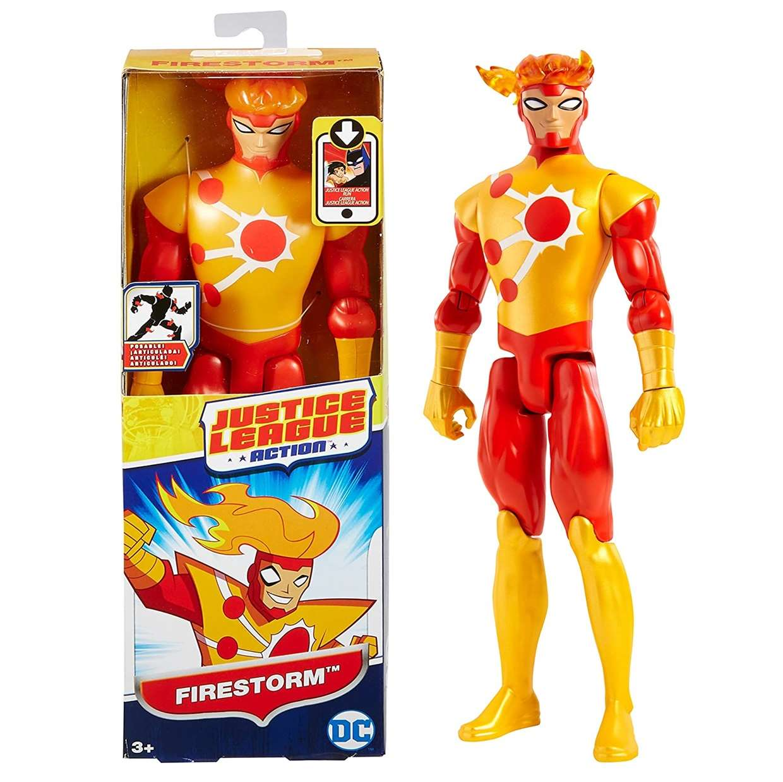 Fire Storm Figura Dc Justice League Action Mattel 12 PuLG