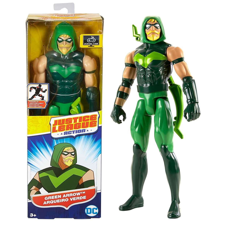 Green Arrow Figura Dc Justice League Action Mattel 12 PuLG