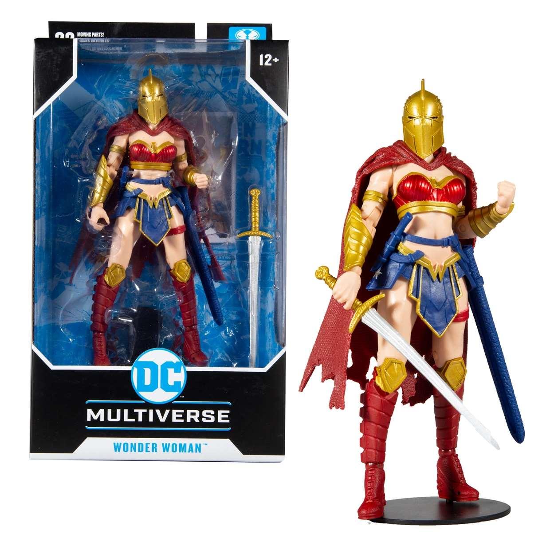 Wonder Woman Figura Batman With Helmet Of Fate Mc Farlane