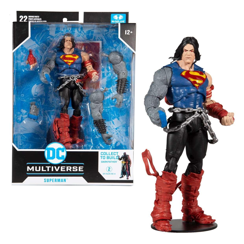 Superman Figura Dark Nights Death Metal Mcfarlane Darkfather