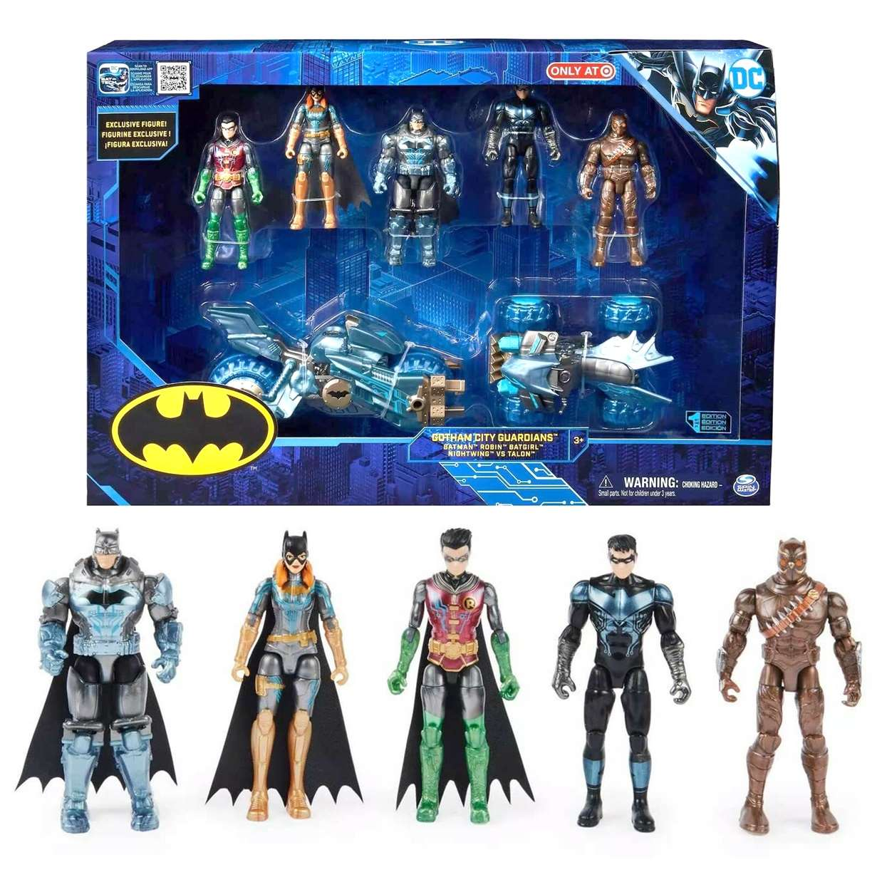 Gotham City Guardians 1St Edition Spina Master Only Target