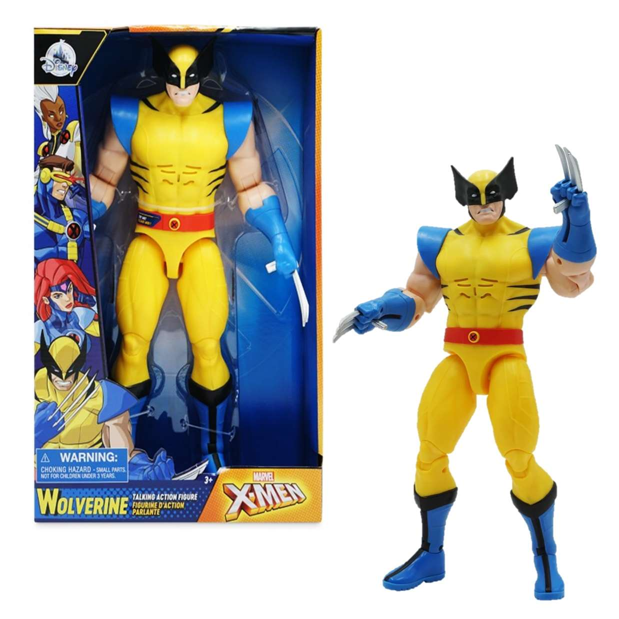 Wolverine Talking Figura Marvel Spider Man Disney 15 Frases