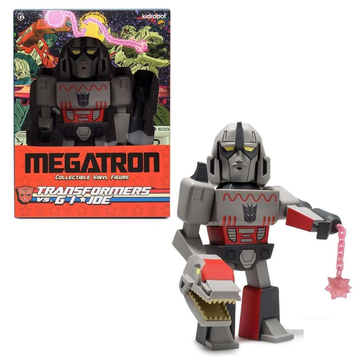 Transformers Vs. G.I. Joe Megatron Limited Edition Kidrobot