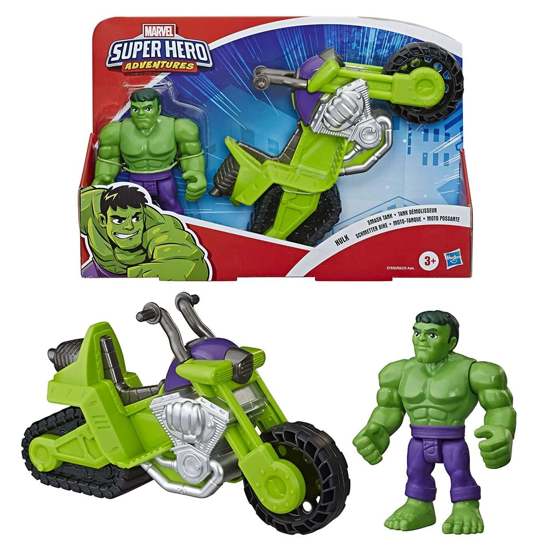 Hulk Smash Tank Figura Marvel Super Hero Adventures 4 PuLG