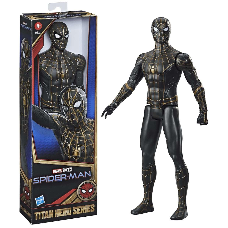 Spider Man Figura Spider Man No Way Home Titan Hero 12 Pulg