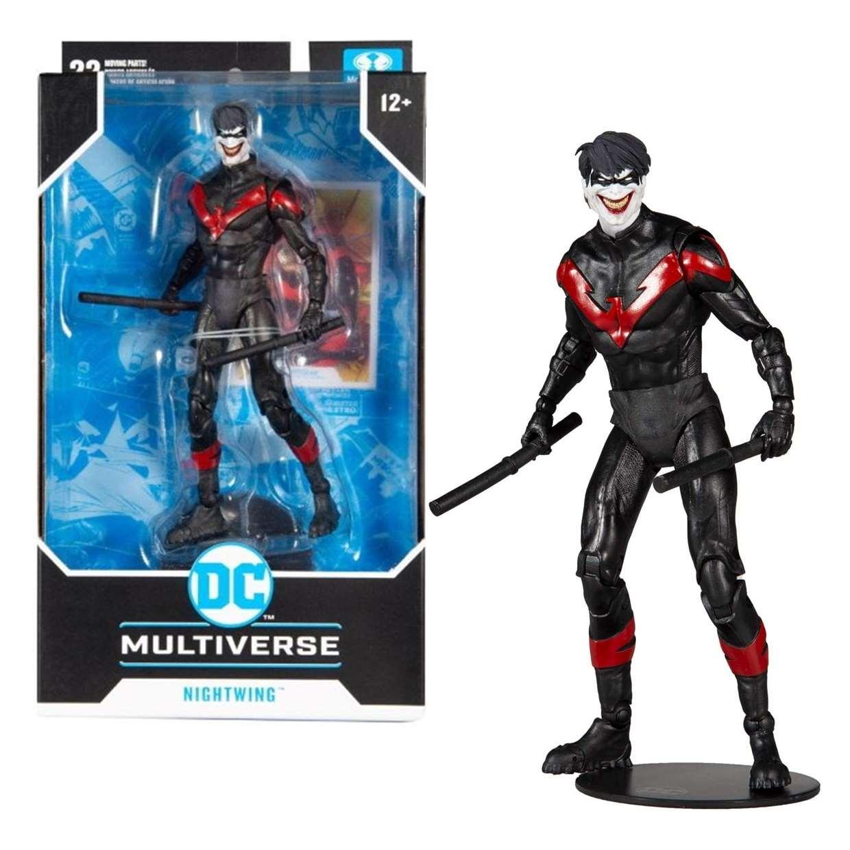 Nightwing Figura Death Of The Family Mc Farlane Multiverse