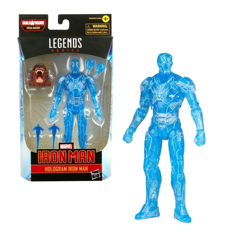 Hologram Iron Man Figura Marvel B A F Ursa Major Legends