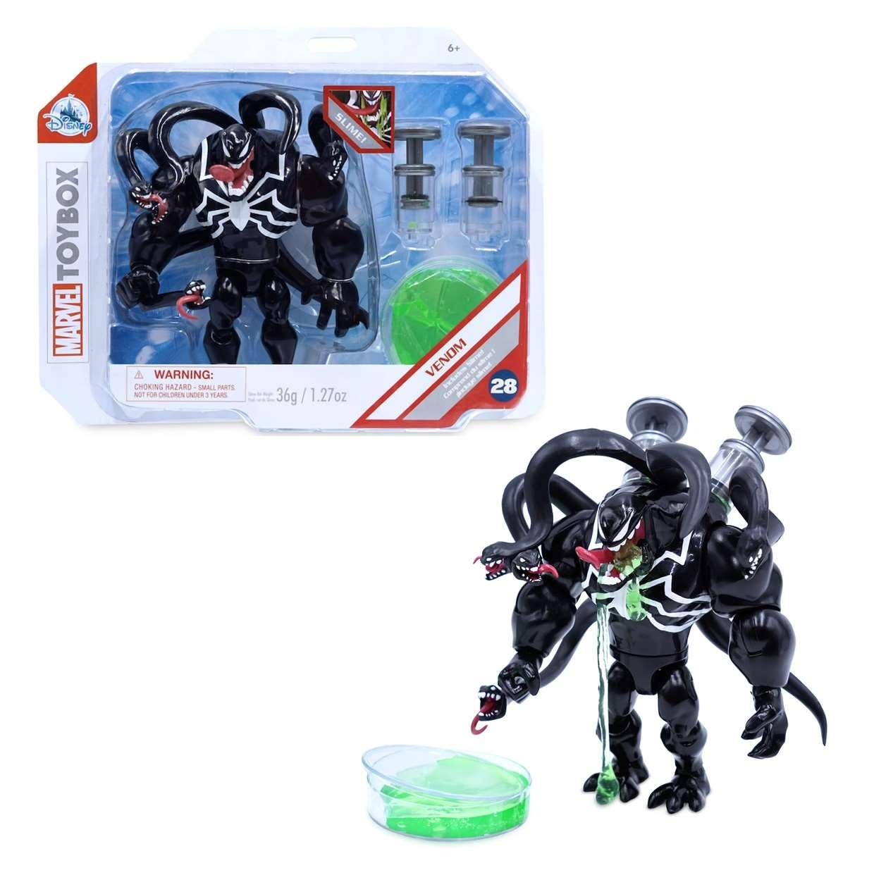 Venom Includes Slime #28 Figura Marvel Toybox Disney 6 PuLG