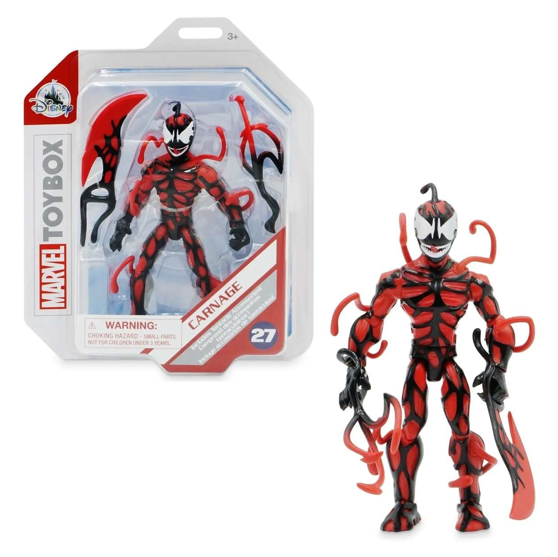 Carnage #27 Figura Marvel Spider Man Toybox Disney