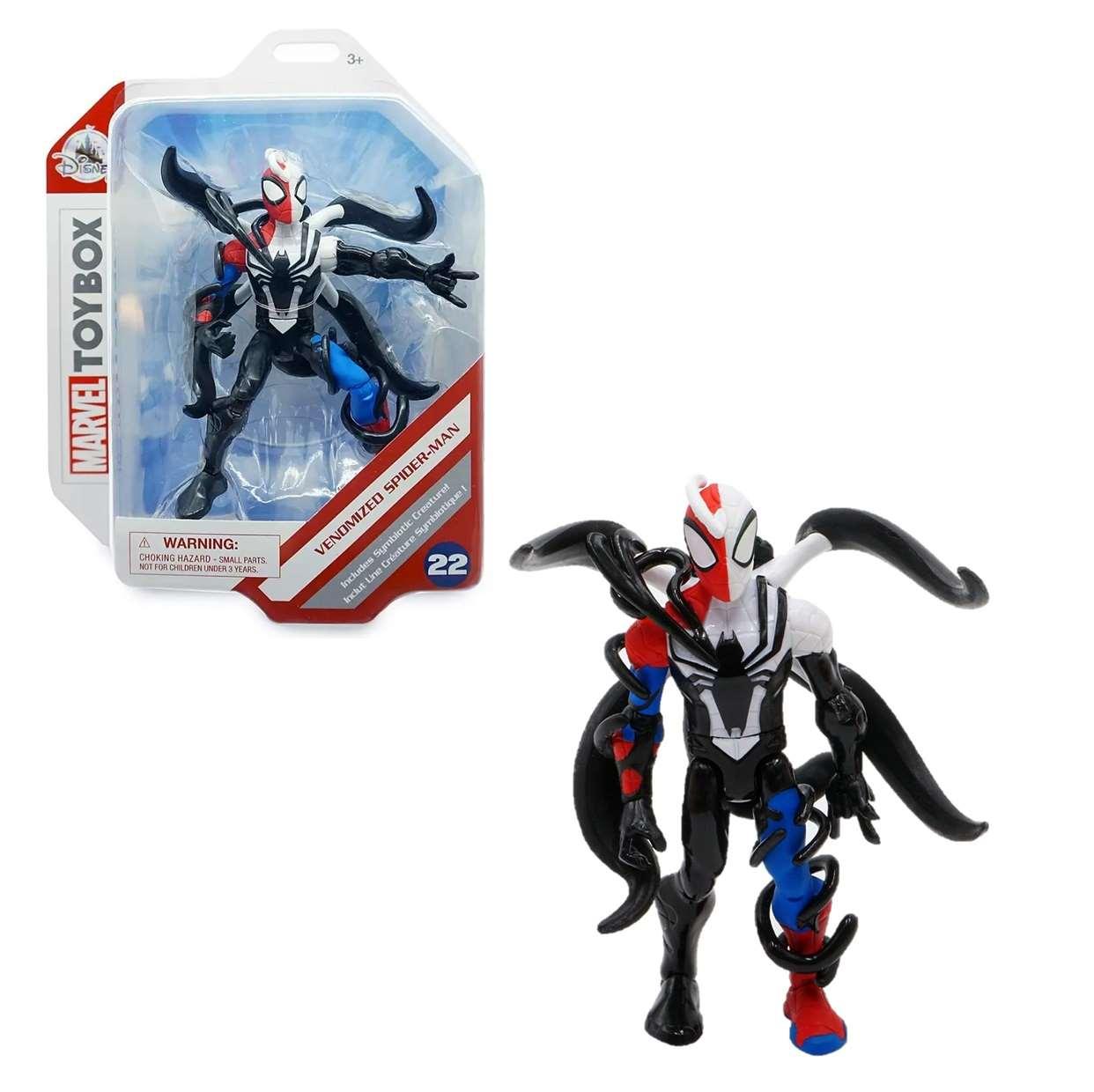 Venomized Spider Man #22 Figura Marvel Toybox 3 Pulgadas