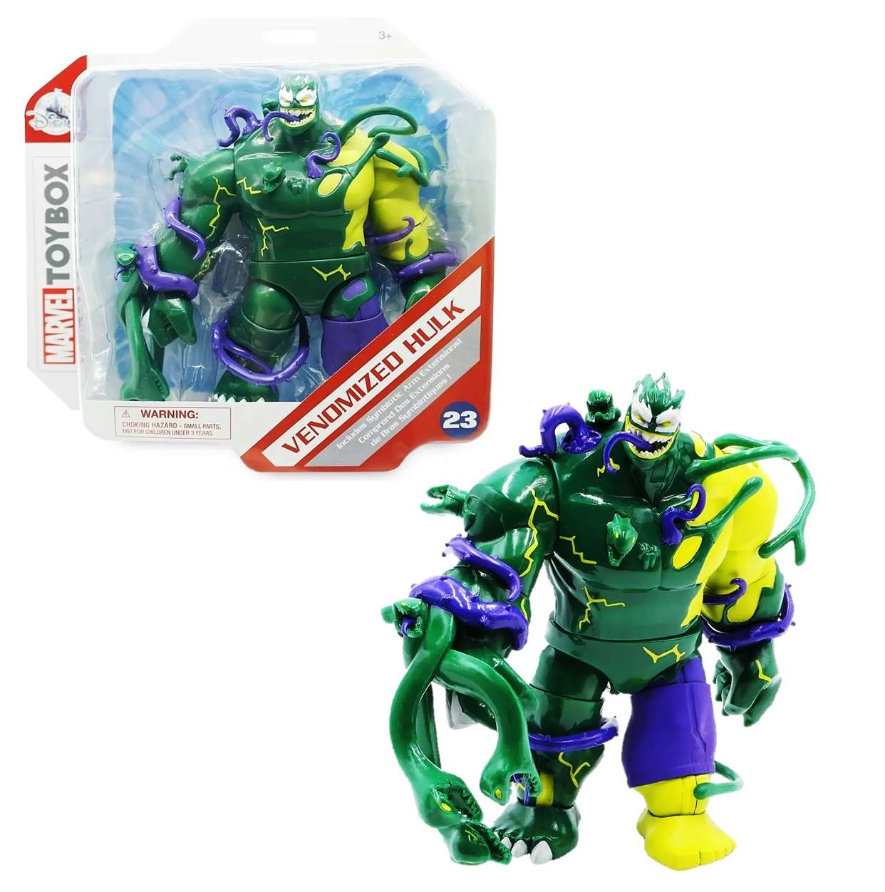 Hulk Venomized #23 Figura Marvel Toybox Disney