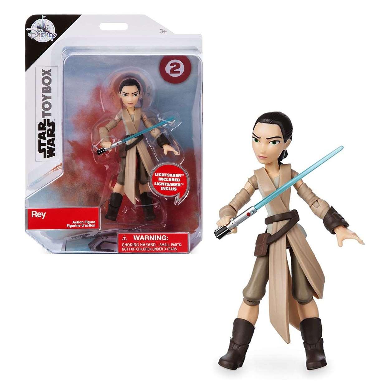 Rey #2 Figura Star Wars The Force Awakens Disney Toybox