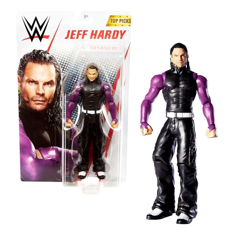 Jeff Hardy Figura Wwe Top Picks Mattel 4 Pulgadas