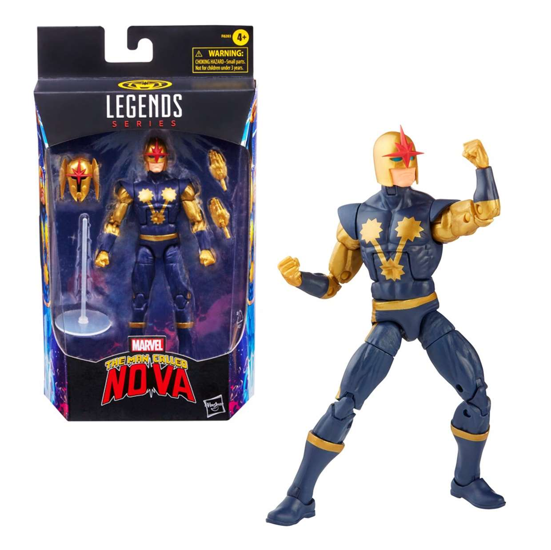 Nova Figura Marvel The Man Called Nova Legends 6 Pulgadas