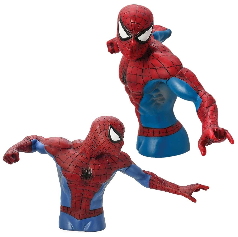 Monogram Figura De Acción Spider Man Busto Pvc 6 Pulgadas