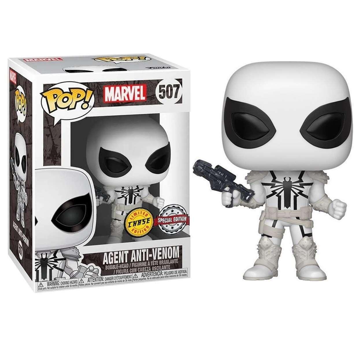 Agent Anti-Venom #507 Funko Pop! Exclusivo Chase Edition