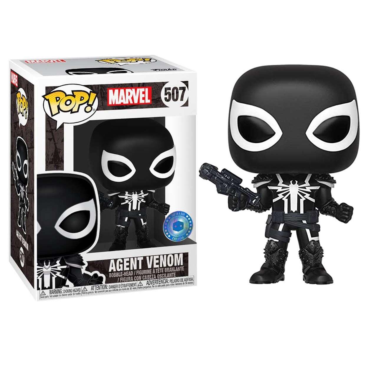 Agente Venom #507 Funko Pop! Exclusivo Pop In A Box